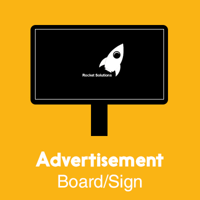 Advertisement Board Sign Design
